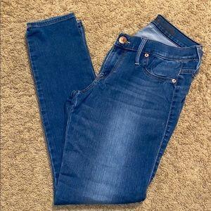 Express Jeans - Express med wash jean 10 reg